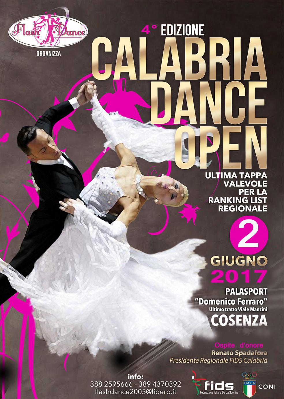 CALABRIA DANCE OPEN -4° EDIZIONE