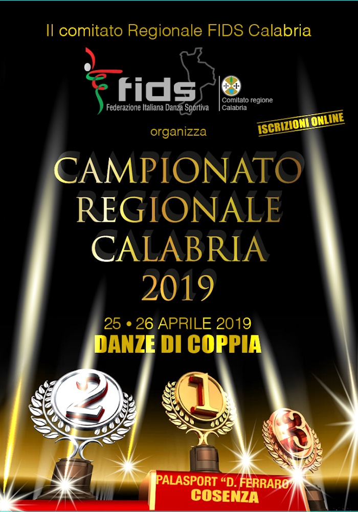 TIME TABLE 25 APRILE 2019 CAMPIONATO REGIONALE